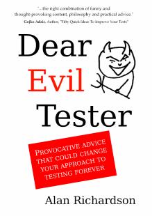 Dear Evil Tester Cover