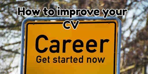build your cv