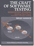 Book Cover of The Craft of Sofware Testing