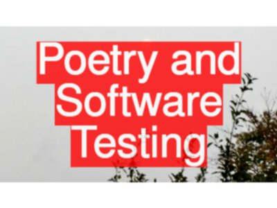 Poetry and Software Testing