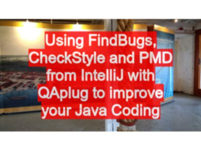 Using FindBugs, CheckStyle and PMD from IntelliJ with QAplug