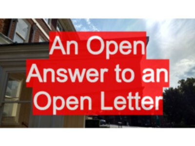 An Open Answer to an Open Letter - EvilTester com