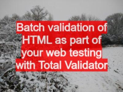 Total validator pro