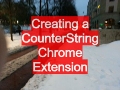 How to Write a Chrome Extension from JavaScript Snippets
