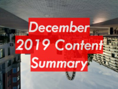 December 2019 EvilTester.com and Patreon Content Summary